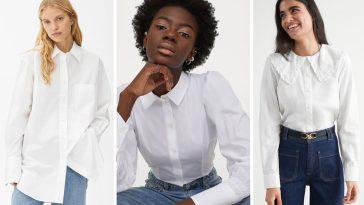 vit skjorta dragarbild