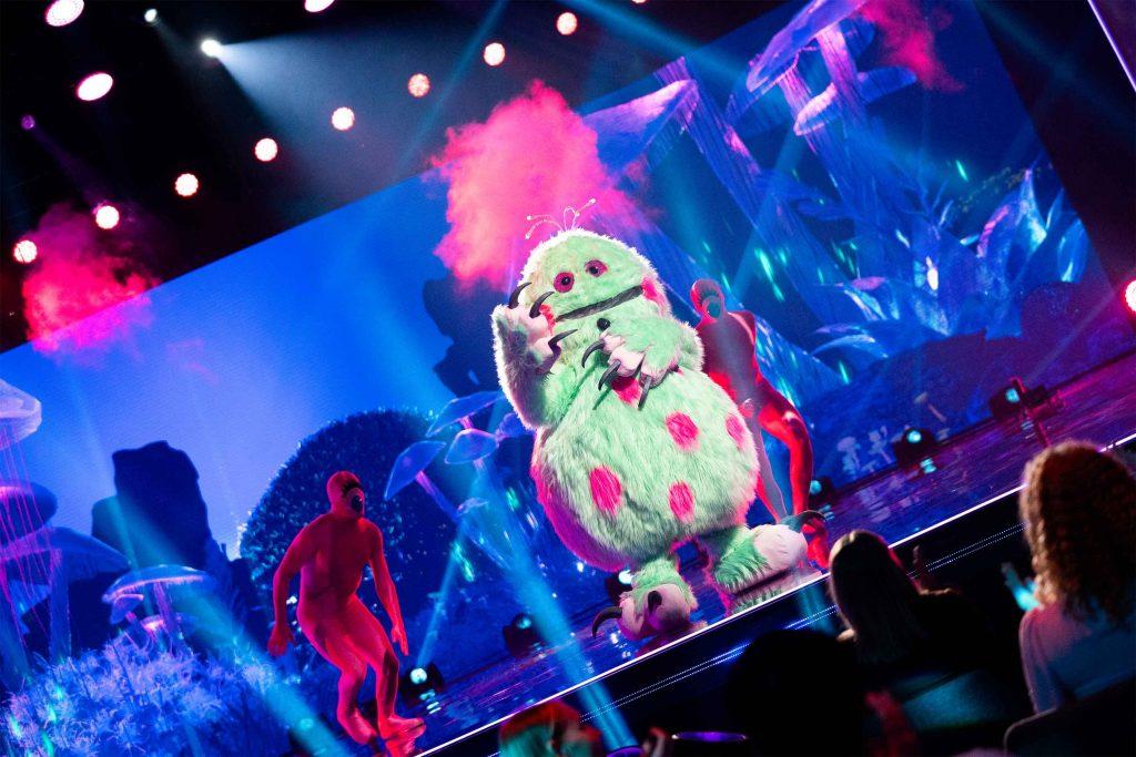 masked singer sverige monstret