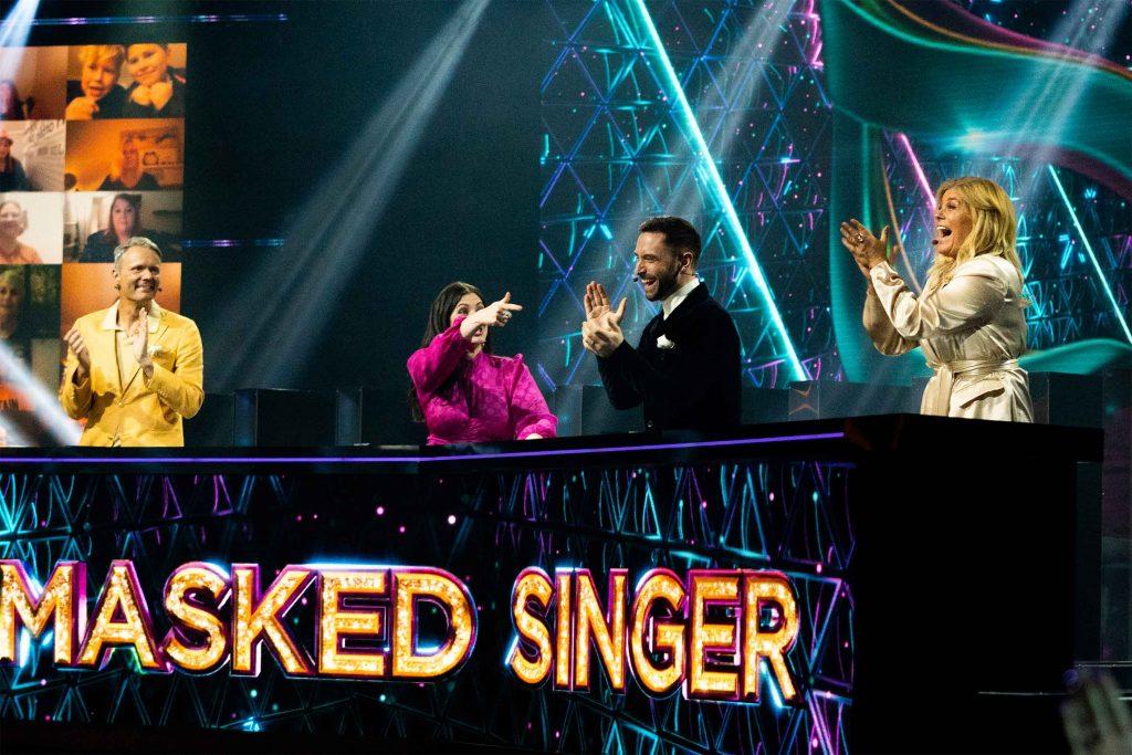 panel masked singer