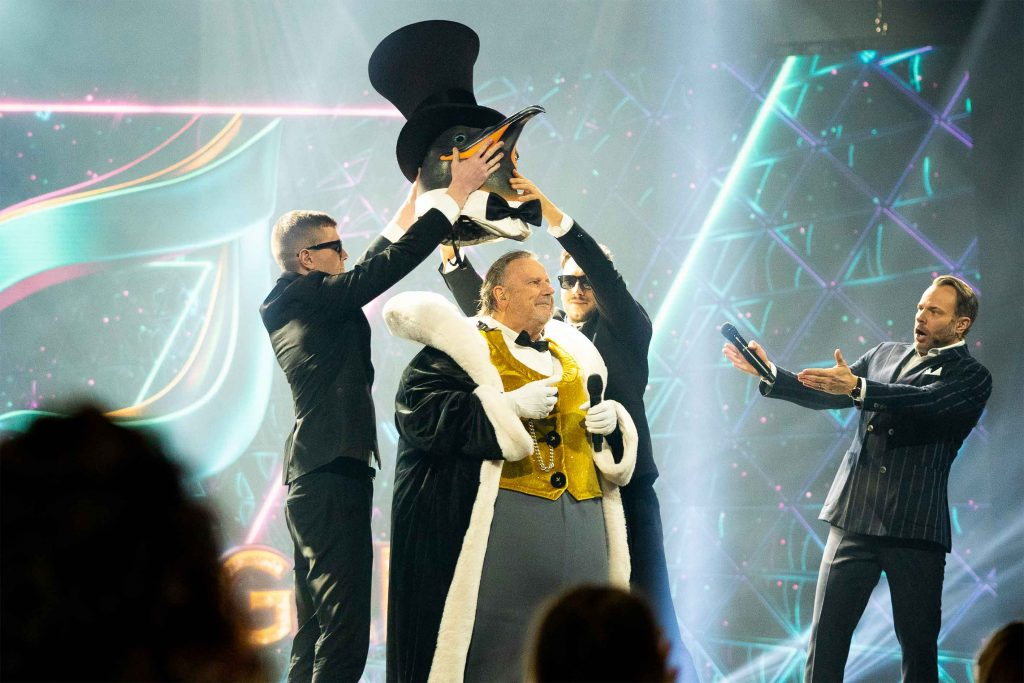 pingvinen masked singer sverige