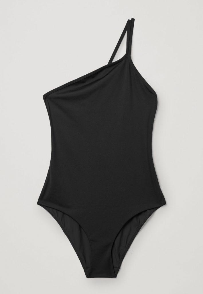 svart baddräkt
