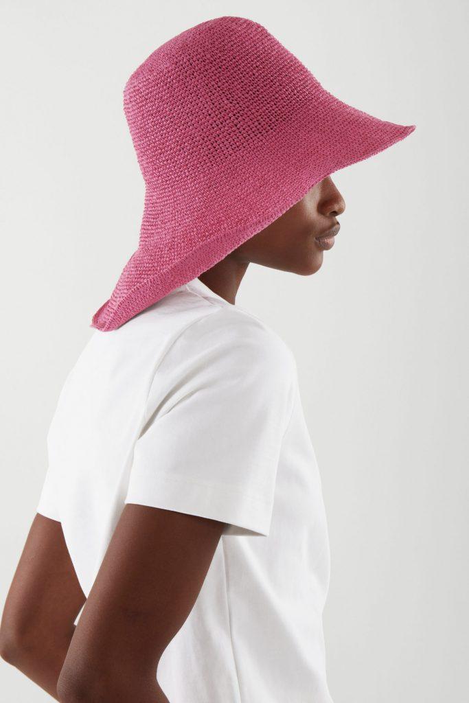 rosa solhatt för dam 2021