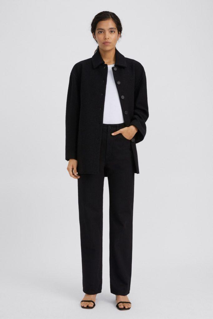 skjortjacka svart
