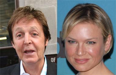 NYTT PAR: Renée Zellweger & Paul McCartney