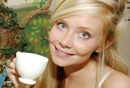 tepåsar på ögonen