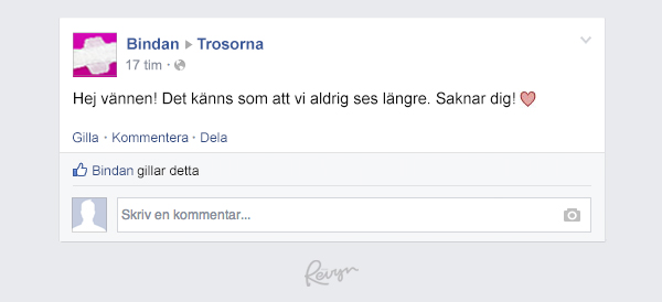 Bindan på Facebook