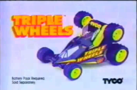Tyco Triple Wheels