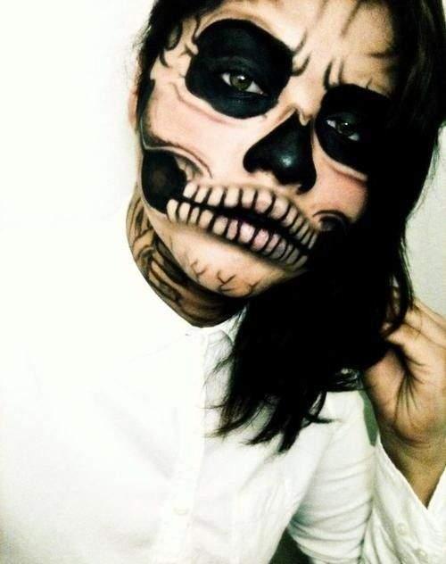 Halloween Sminkek.29 Galna Halloween Sminkningar Scrolla Inte Om Du Ar En